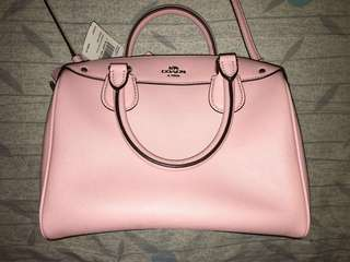 💕sales coach pink mini Boston bag