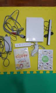 Wii 日版中文 (已改) 包一套手掣+2隻正版碟
