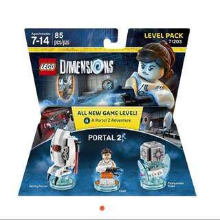 Lego portal 2 lego dimensions game level pack 71203