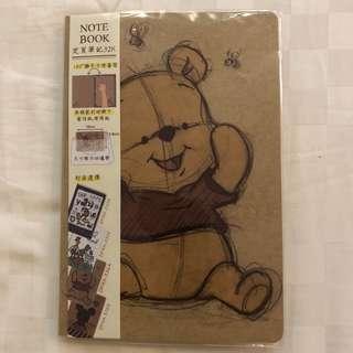 Winnie the Pooh notebook 筆記本