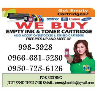 hIGHEST BUYING PRICE OFFER bUYER OF empty ink cartridges and toner