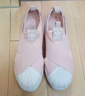 🚚 Adidas 繃帶鞋 粉紅色 尺寸24.0