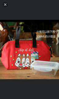 Red thermal bag