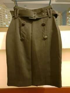 Office Attire Black Skirt