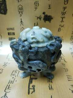江南玉石香爐
