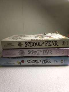 'School of Fear' Trilogy collection by Gitty Daneshvari