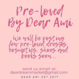 PRE-LOVED DRESSES! Follow us to get notified!