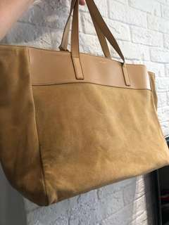 Saint Laurent East West reversible tote bag two sided