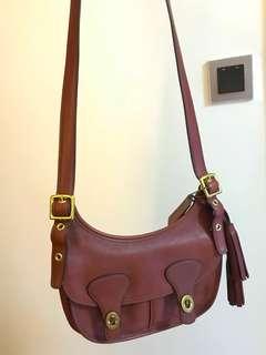 Coach Vintage Mini Hobo Leather Handbag - Mint condition!