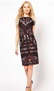 River Island African Design Dress UK6