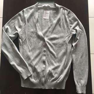 Uniqlo Cotton V Neck Cardigan
