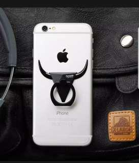 Fashion unique Bcase bull phone black ring