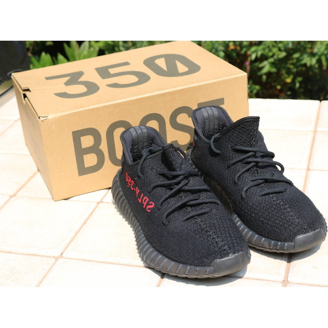 4a25cfe49516a 50 OFF) Adidas Yeezy Boost 350 V2 Black Red