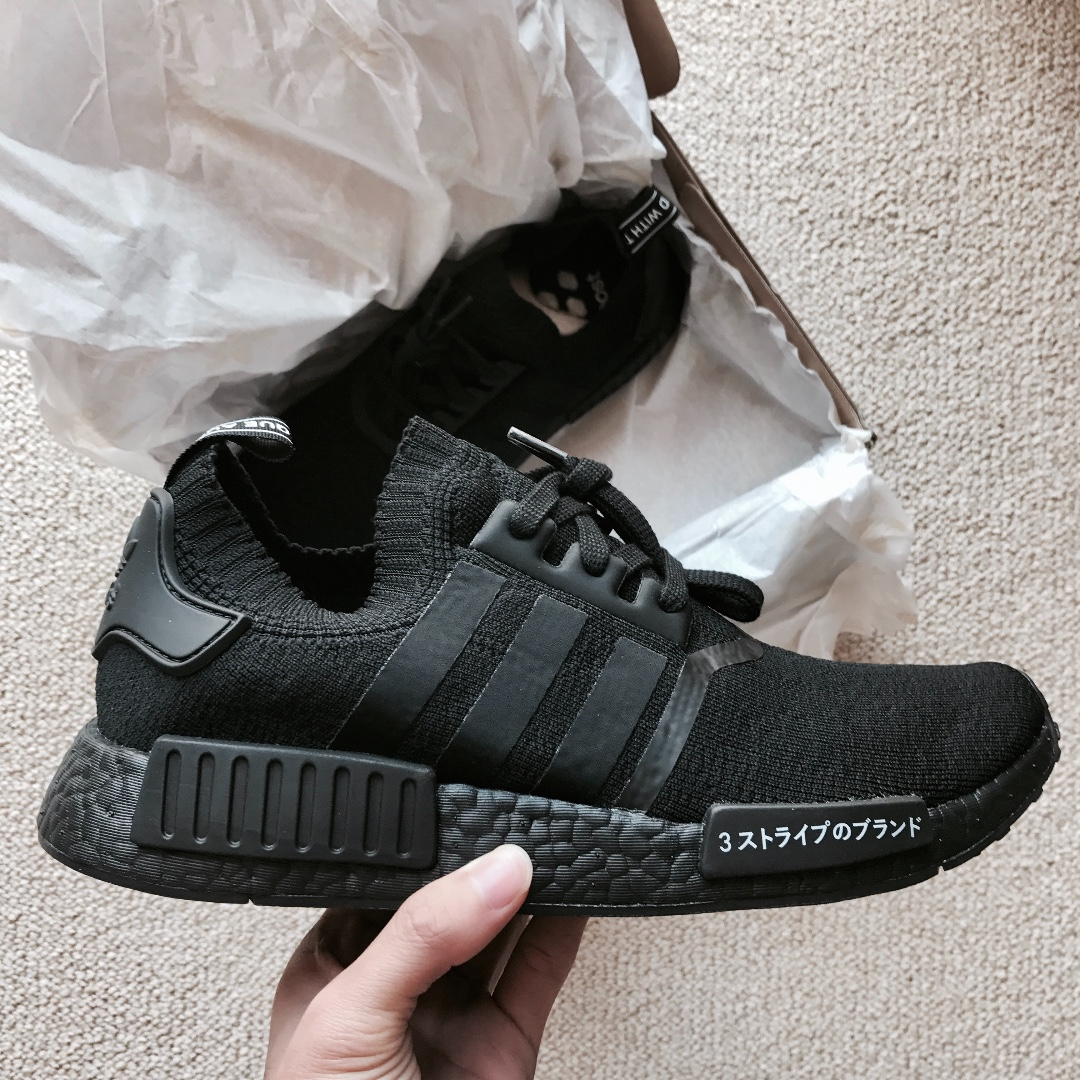 size 40 3131f 1e170 ireland adidas nmd pk triple black mens fashion footwear sneakers on  carousell 8d21d cfed4