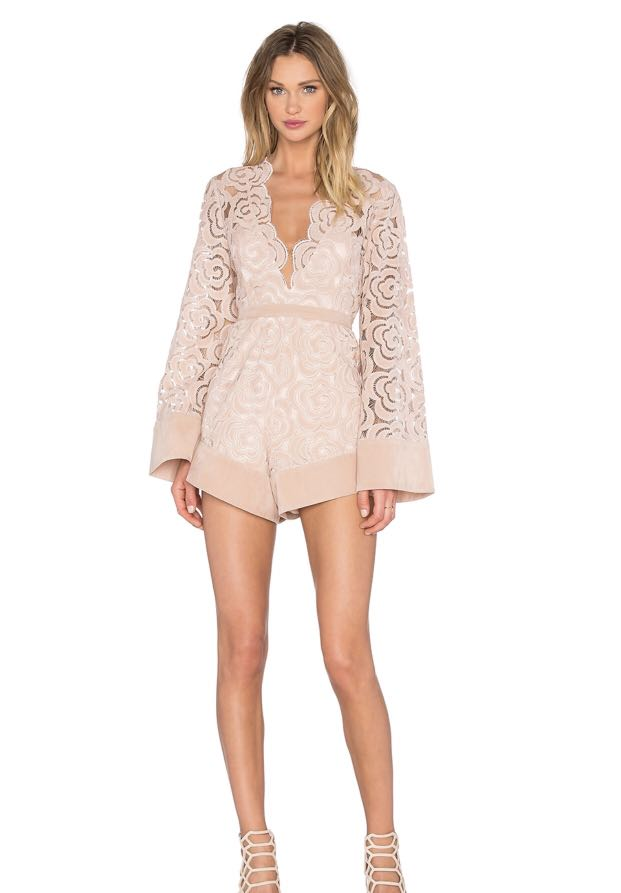 75071875462 Alice McCall My One And Only Playsuit UK6