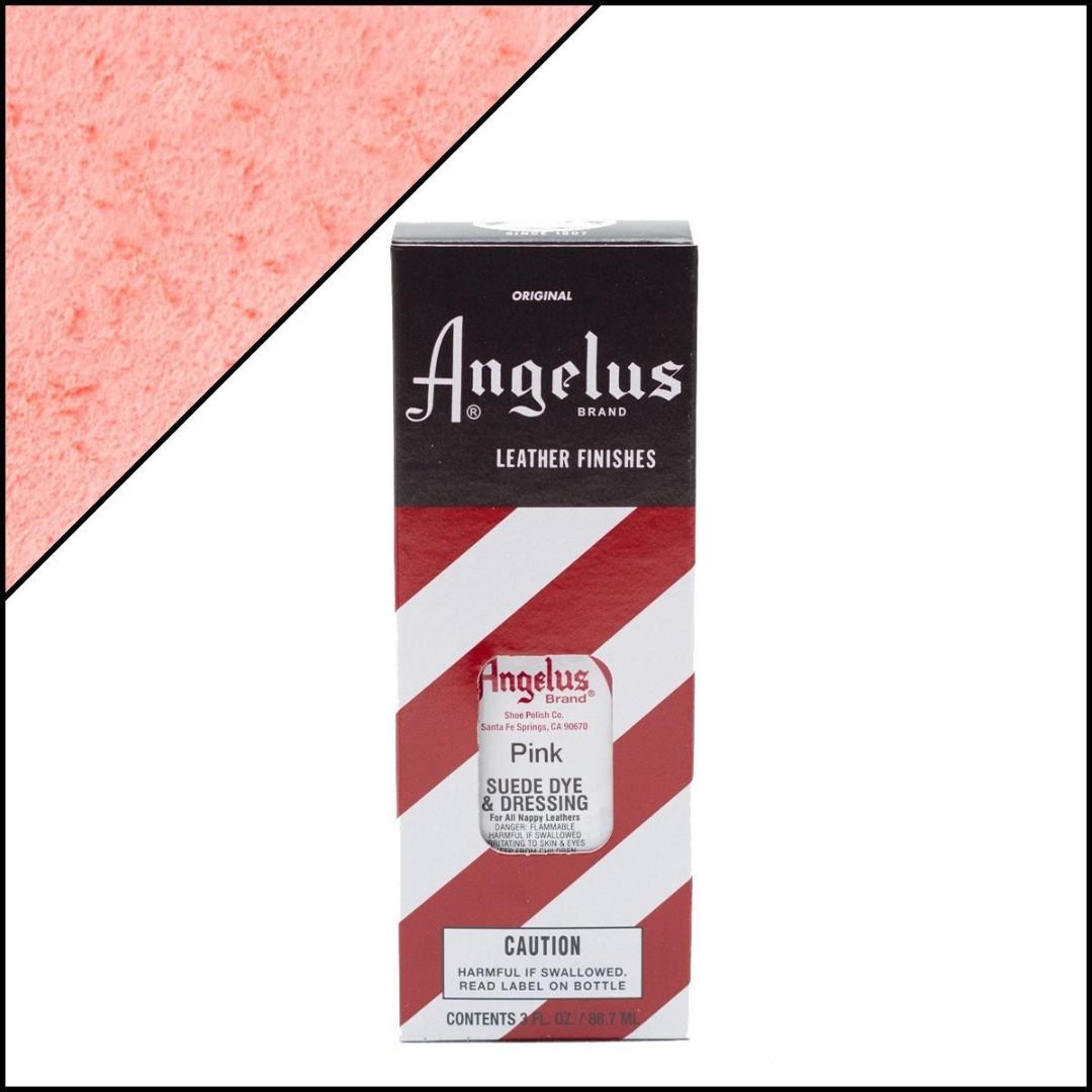 Angelus Suede Dye Pink