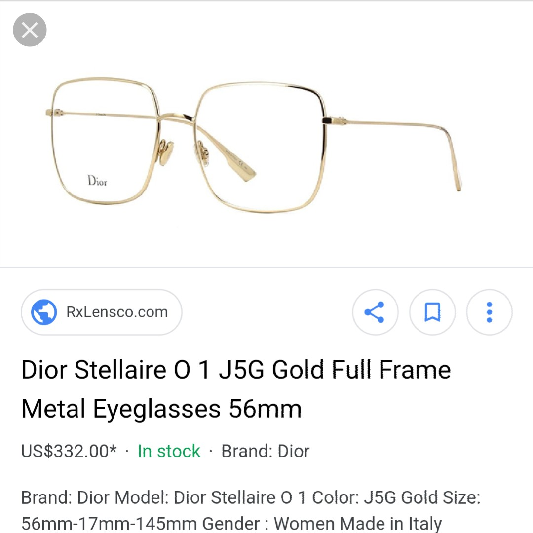 fbe352a7d696 Authentic Dior Stellaire 01 - Rose Gold