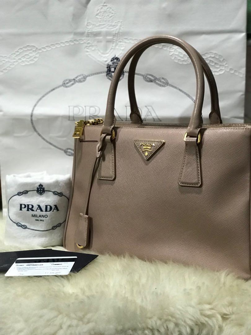 9a3e66763044 Authentic Prada Saffiano Bag