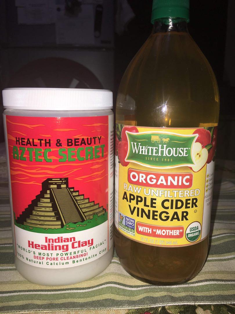 Aztec Indian Healing clay with Apple cider vinegar