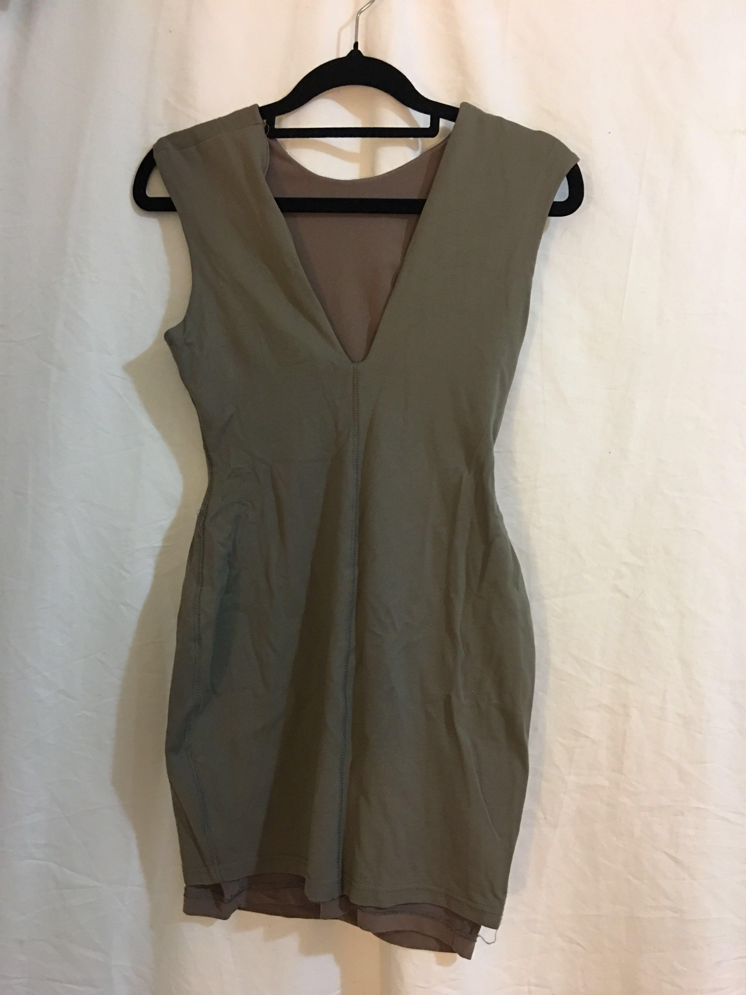 Bec and Bridge Khaki Dress size 8