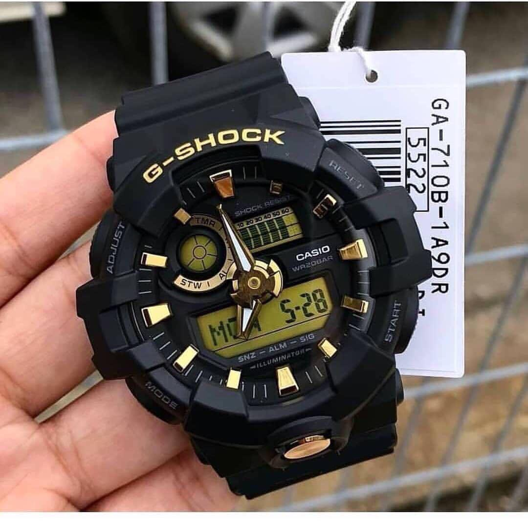 sports shoes 506f4 ee013 Brand new and 💯% authentic Casio G-Shock GA-710B-1A9DR ...