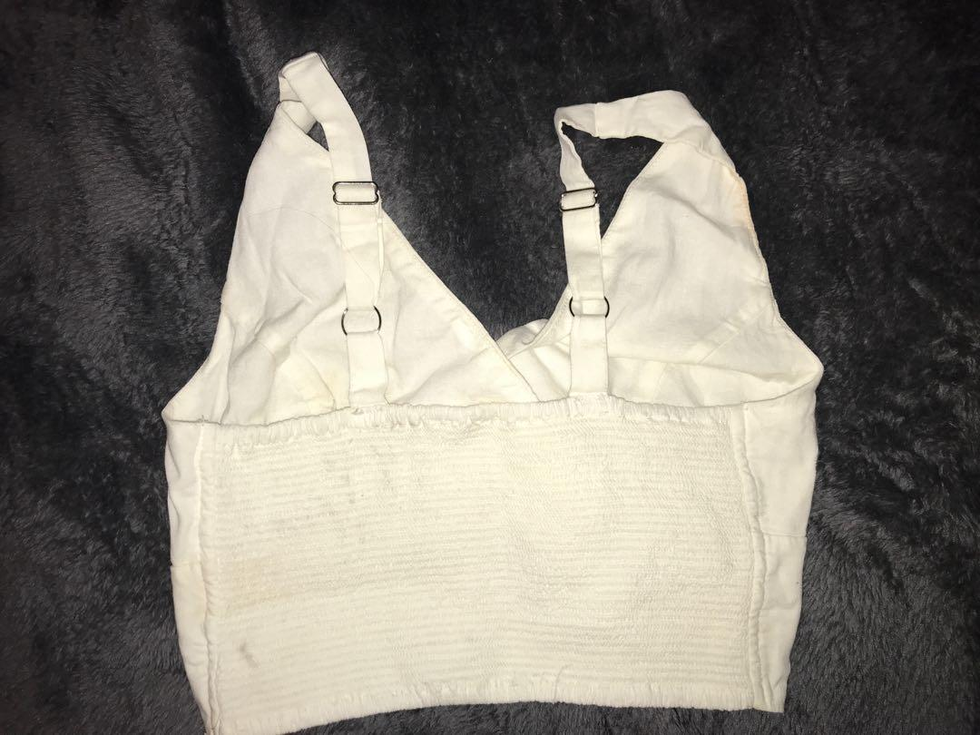 Brandy top one size fits all (pretty tight) adjustable straps
