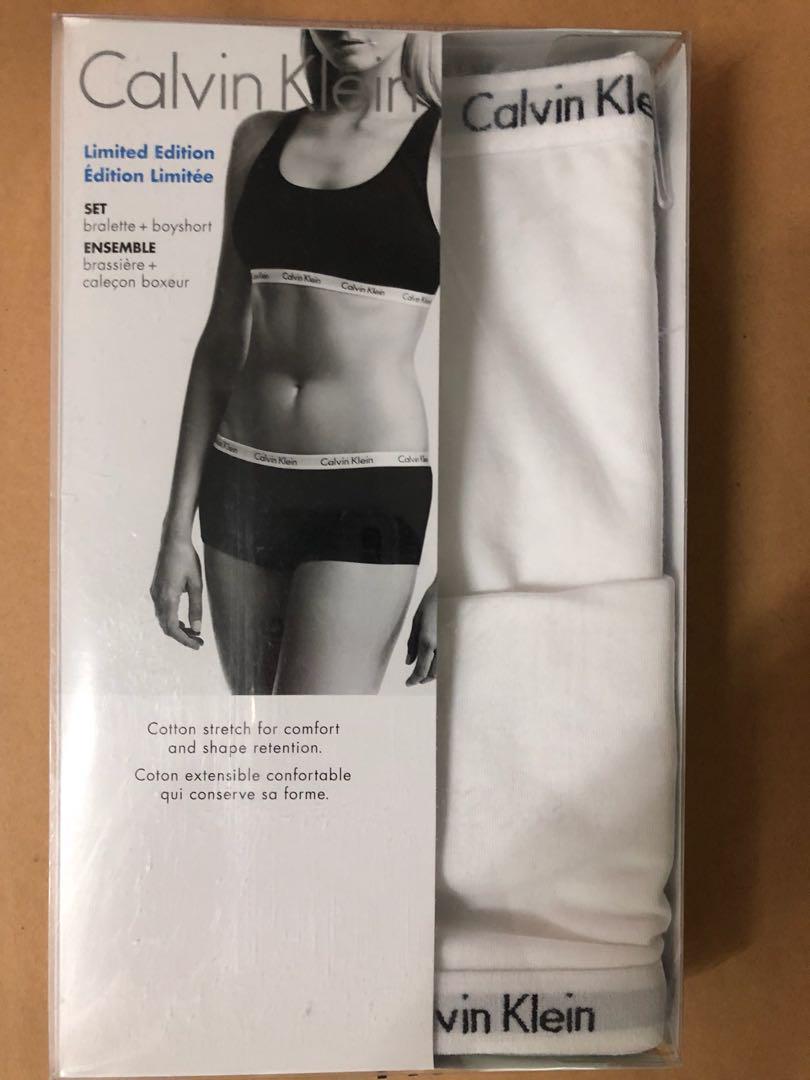 Calvin Klein Women bralette and underwear set (M size)