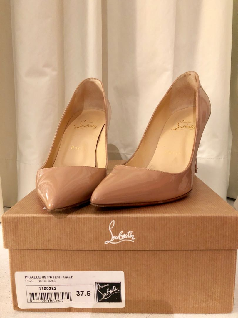 750ca71b1fd7 Christian Louboutin pigalle 85 parent nude