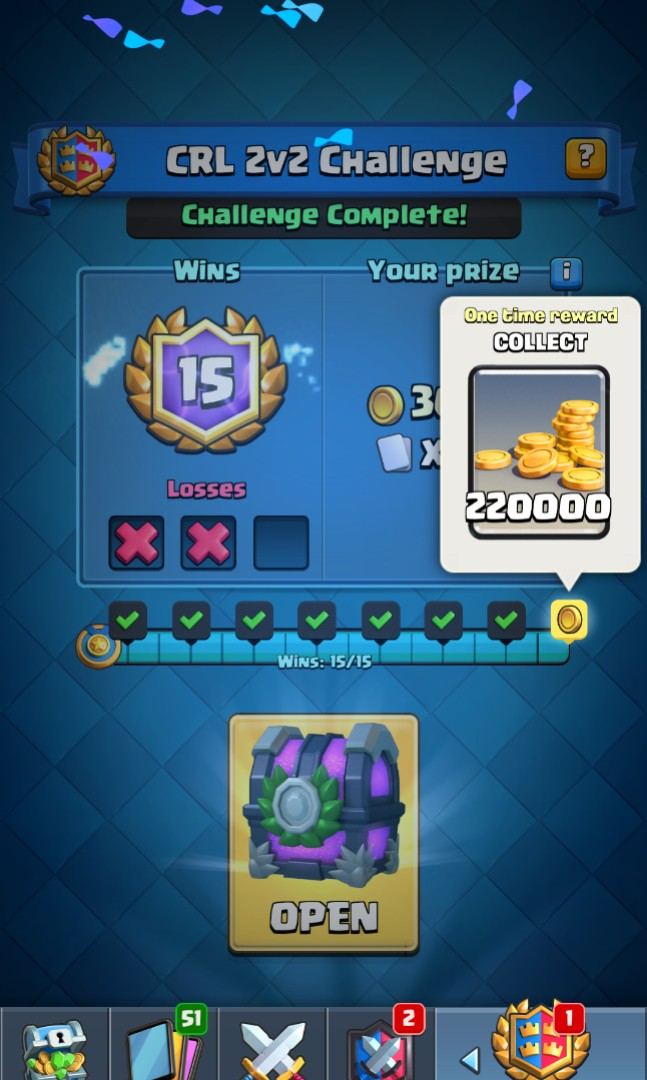 Clash Royale League Challenge, Toys & Games, Video Gaming, Others on