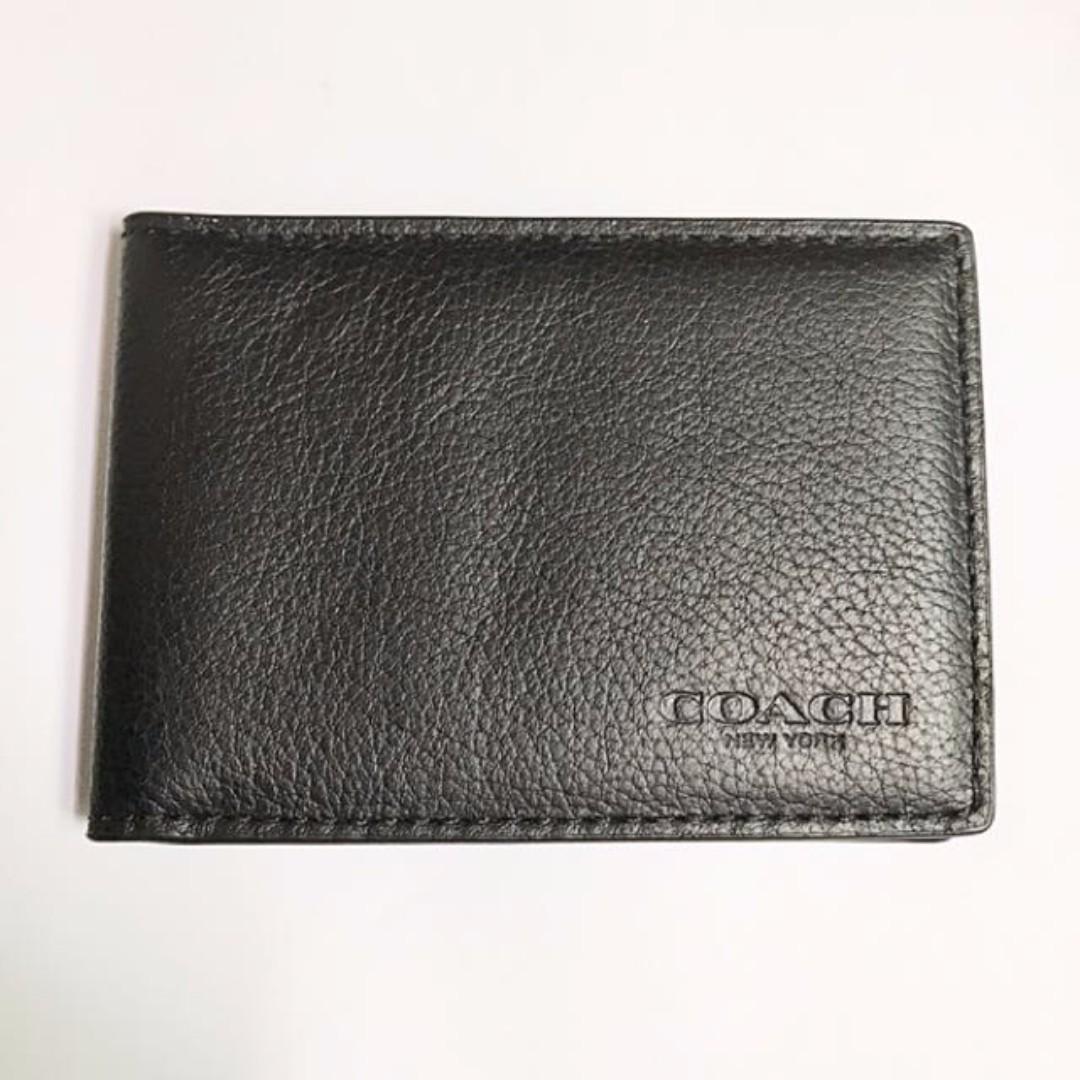 dad451f0eb Coach - Black Colour Name Card Holder