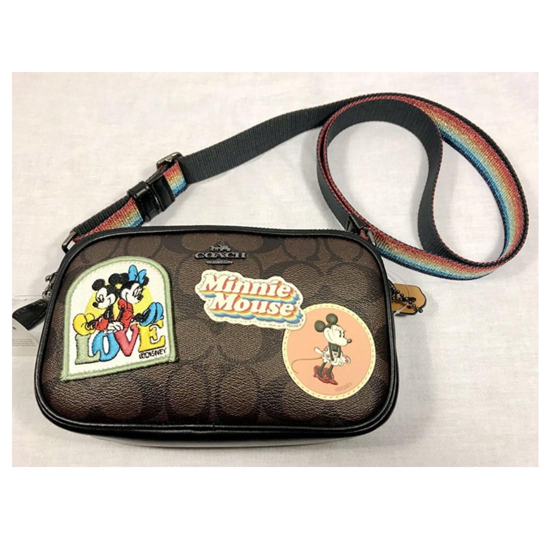 a2fc87486112b Coach Disney Minnie Mouse Signature Crossbody