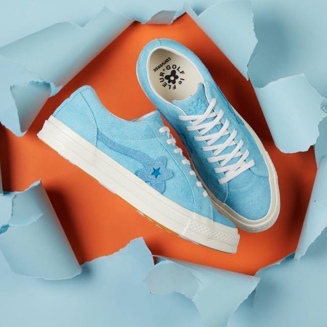 9ca902fcfb53 Converse X Golf Le Fleur One Star (Bachelor Blue)
