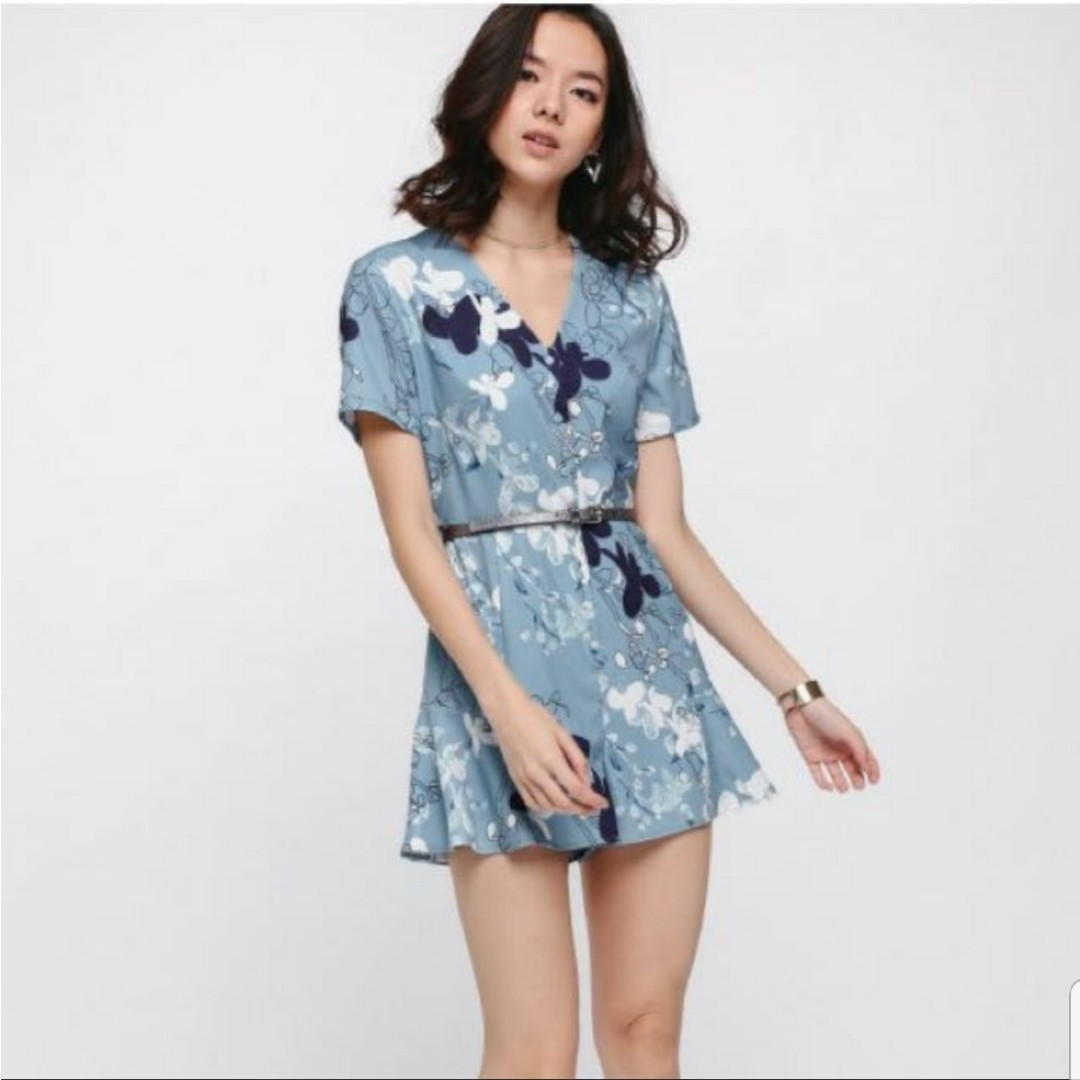 59a0fb53a1a Ducena Printed Playsuit Size S