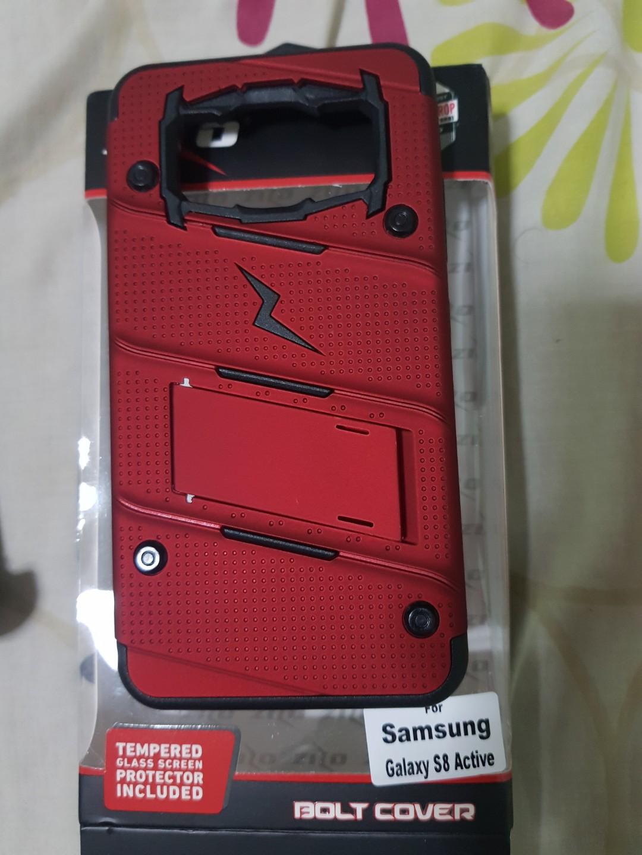 quite nice 9e6e9 5ec50 Galaxy S8 Active Case - Zizo [Bolt Series]