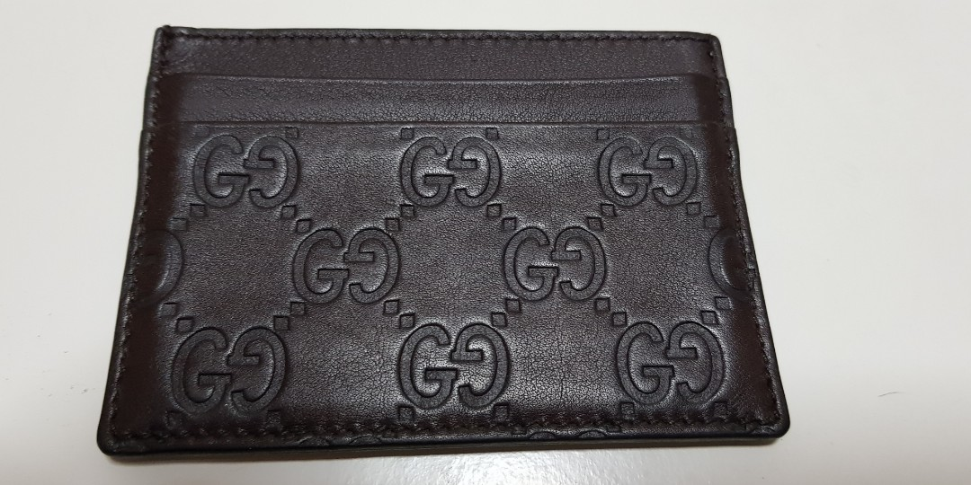 00a33c4142fc Genuine Gucci Card Holder, Men's Fashion, Bags & Wallets, Wallets on ...