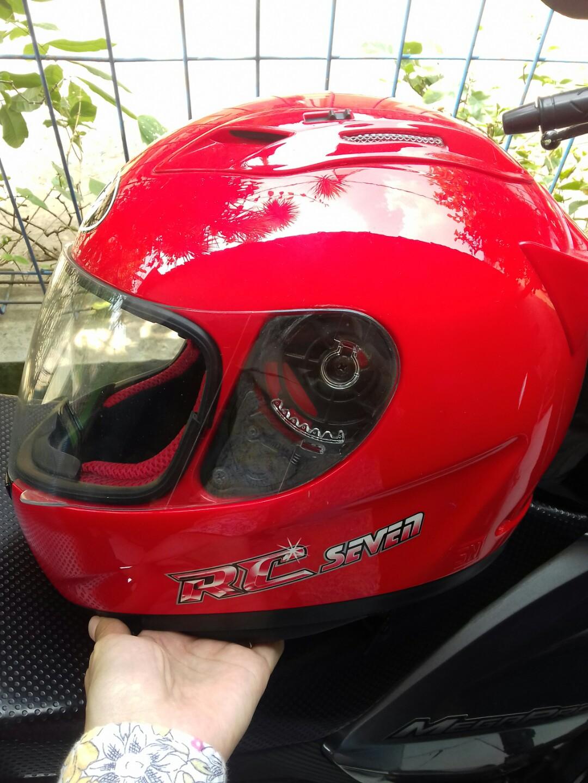 Helm Kyt Rc Seven Motor Di Carousell Cakil Hbc Rust Dust Hitam Doff Emas