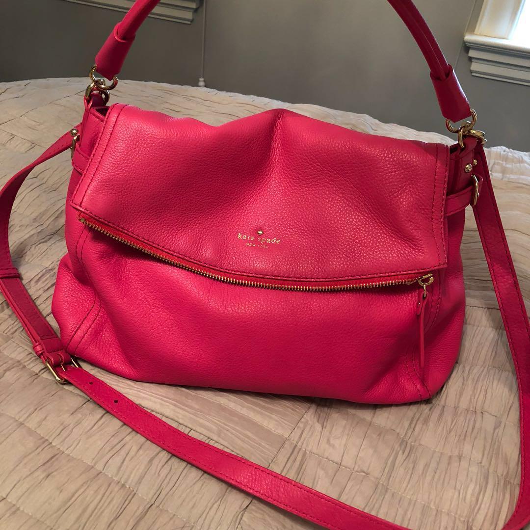 Kate spade little cobble hill purse pink