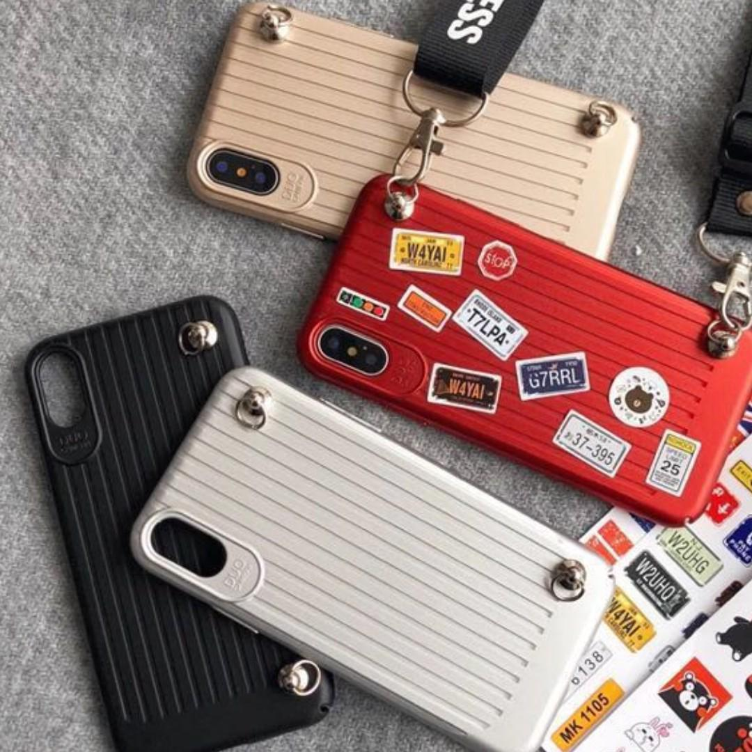 Little Luggage Phone Cover W/ Strap