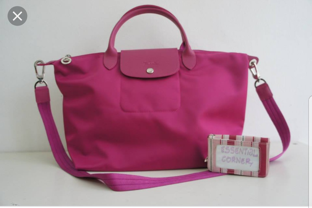 Longchamp Le Pliage Neo Pink Bag - Small 16156c095c814
