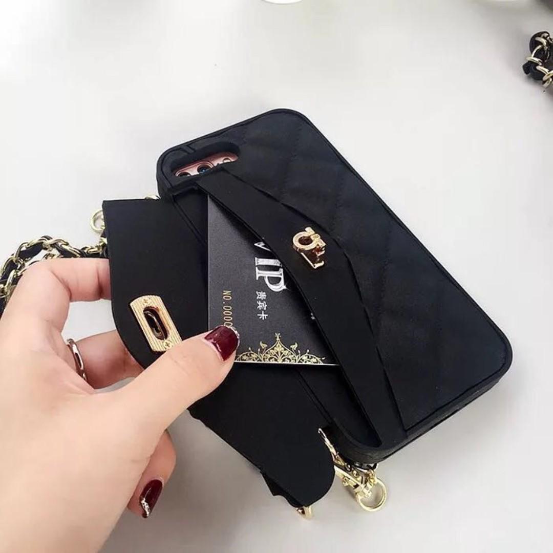 Mini Handbag Phone Cover W/ Sling Strap