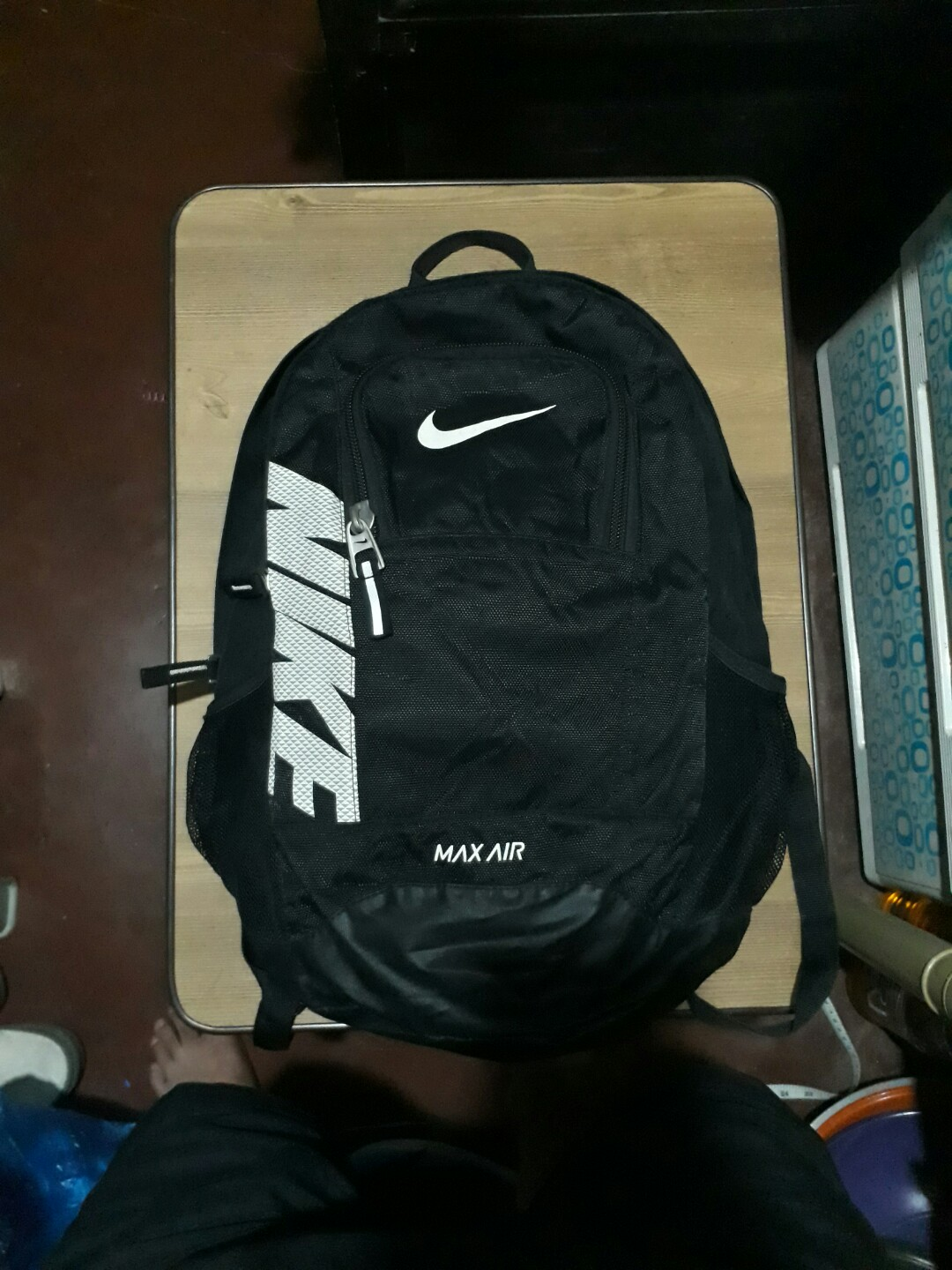 79e920b69a5 Nike Max Air backpack, Men s Fashion, Bags   Wallets on Carousell