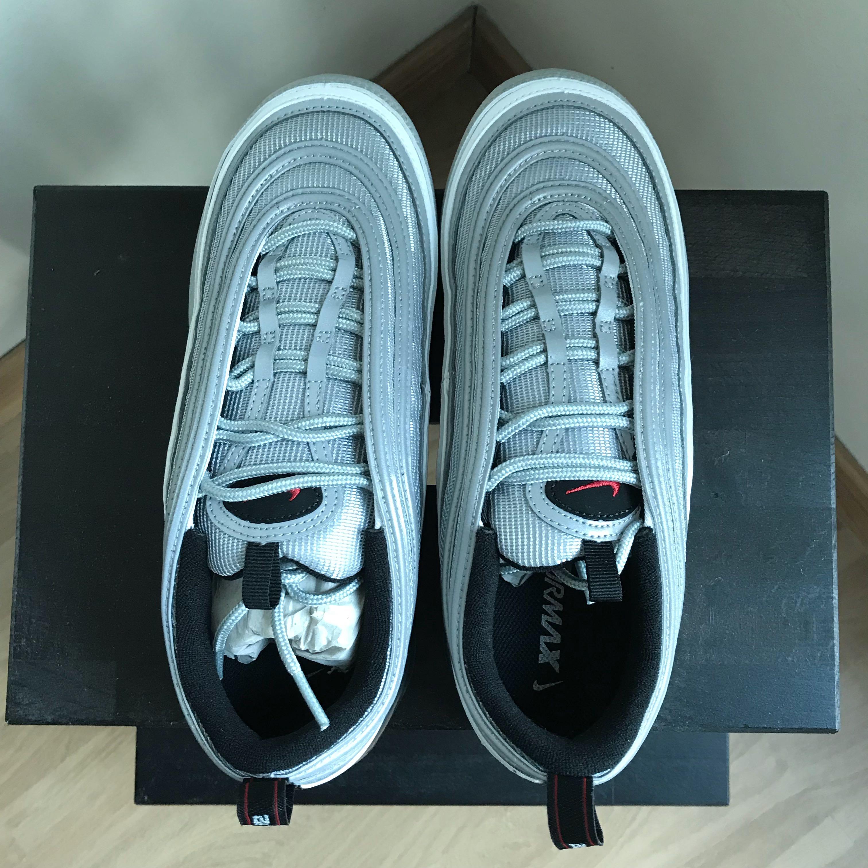 6ab2de2af9 Nike Vapormax 97 Silver Bullet UK8, Men's Fashion, Footwear ...