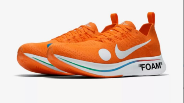 competitive price 945c6 f3804 Offwhite™ X Nike® Zoom Fly Mercurial Flyknit (Orange), Men s Fashion ...