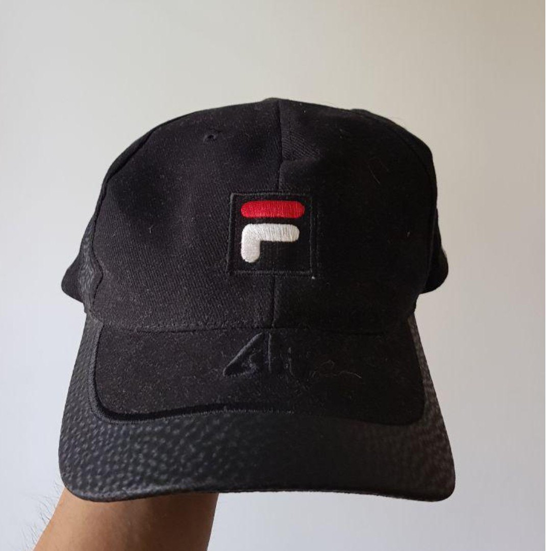 02c442a3040713 Old School Fila baseball cap, Women's Fashion, Accessories, Caps ...