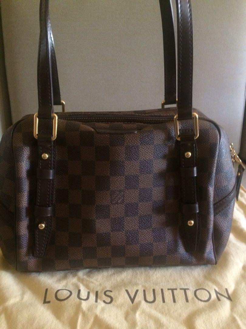 eab355a99e9 Original Louis Vuitton Rivington PM Damier Ebne - Rare Vintage!, Luxury,  Bags   Wallets on Carousell