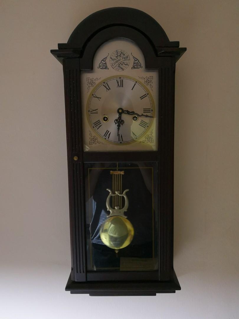 New Replacement Pendulum Quartz Clock Movement & Metal Hands Clock