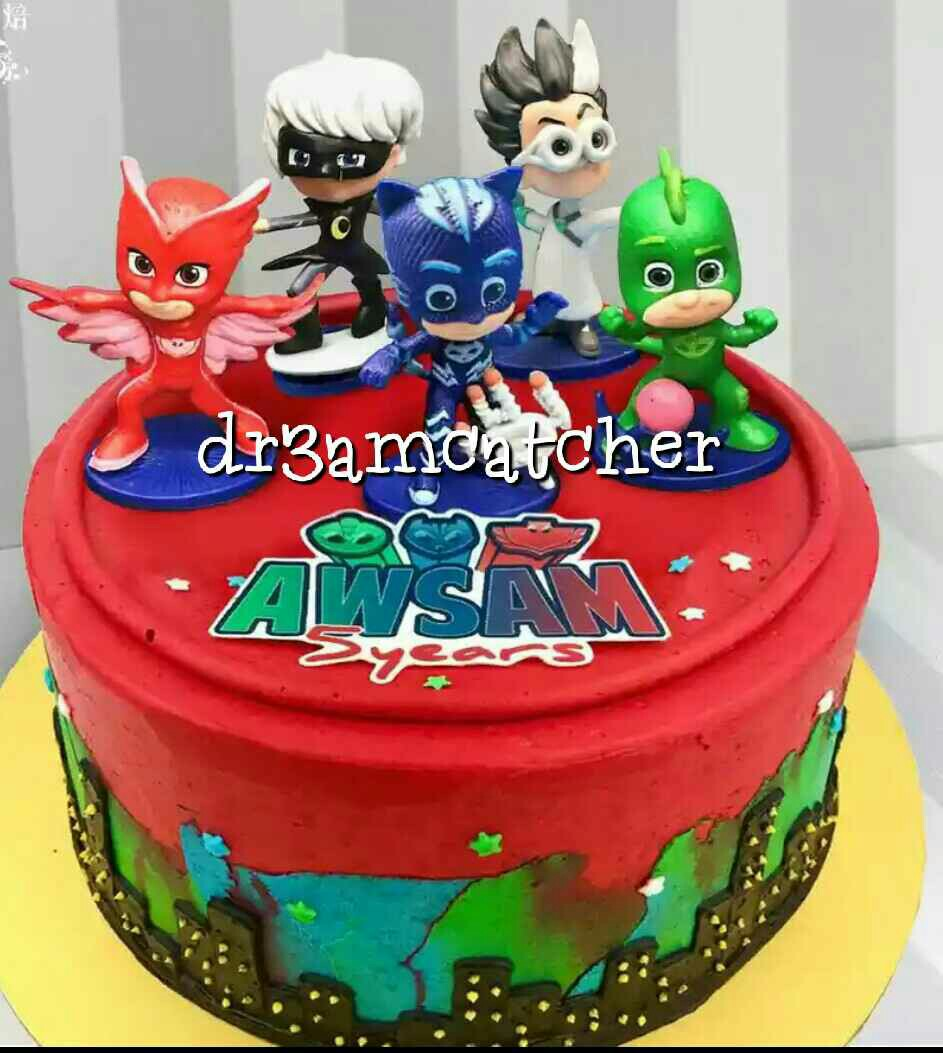 PJ Mask Cake Toppers Babies Kids Toys Walkers On Carousell