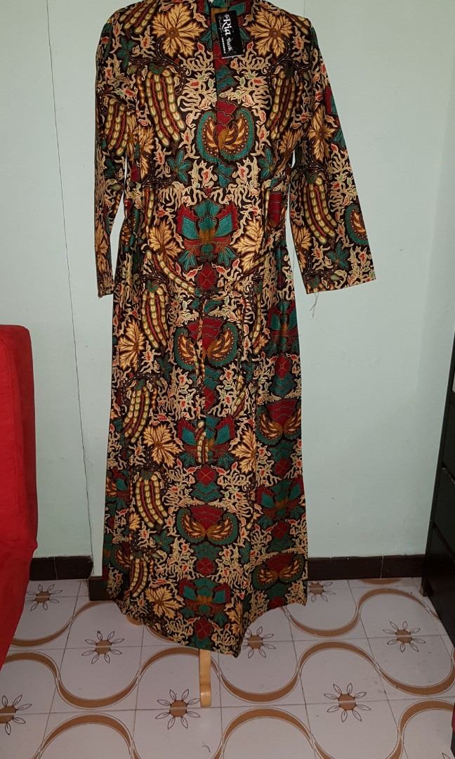 Plus size batik dress, Women\'s Fashion, Clothes, Dresses & Skirts on ...
