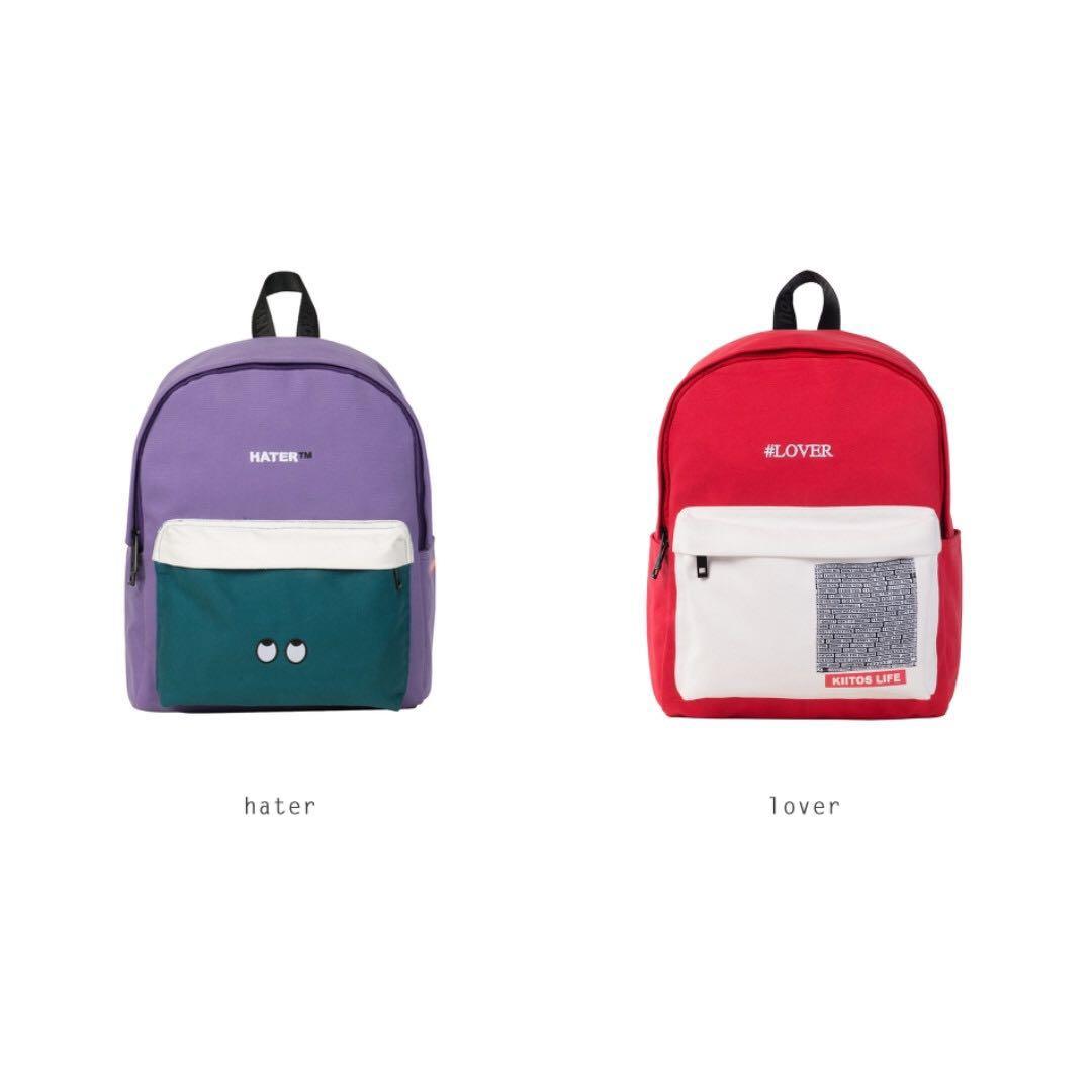 e8cc5d5947  PO  Love Peace Backpack By Kiitos Life