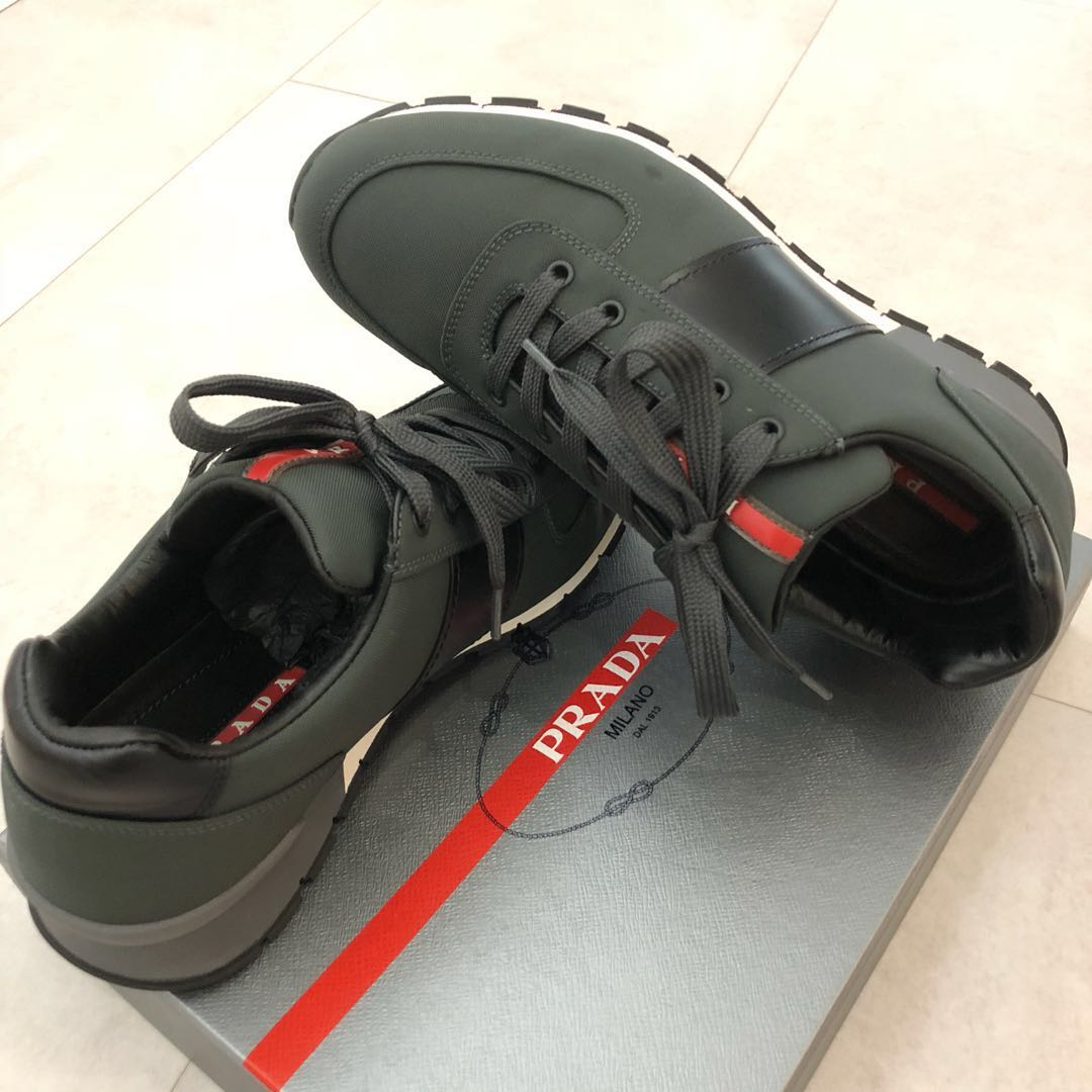 9495d19480a6 Prada Men's Shoes, Men's Fashion, Footwear, Sneakers on Carousell